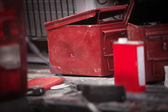 Pyrotechnic Equipment — Stock Photo