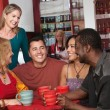 Foto Stock: Happy Diverse Group of Adults