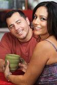 Casal atraente mexicano — Foto Stock