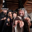 Mythical Family of Wizards — Stock Photo #18609009