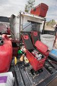 Explosive Powder Containers — Stock Photo