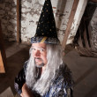 Stock Photo: Clever Wizard