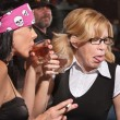 Nerd Reacting to Whiskey in Tavern — Stock Photo #19559091