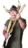 Heavy Metal Guitarist — Stock Photo