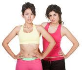 可爱的西班牙裔美国人体育锻炼的女孩 — 图库照片
