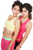 Female Athletic Friends — Stock Photo