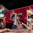 Pizza Orders at Food Truck — Stock Photo