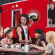 Food Truck Pizza Delivery - Stock Photo