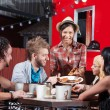 Late Night Snack at Food Truck — Stock Photo