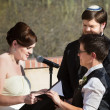Lesbian Couple Marriage Ceremony — Stock Photo #23788131