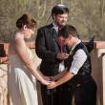 Lesbian Marriage Ceremony — Stock Photo