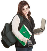 Overworked Student — Stock Photo