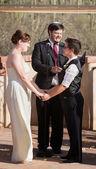 Gay Couple Marrying — Stock Photo