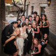 Same Sex Wedding Party - Stock Photo