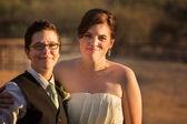 Smiling Gay Couple — Stock Photo