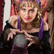 Stock Photo: Gorgeous Fortune Teller
