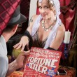 Customer with Fortune Teller — Stock Photo #25967681
