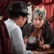 Serious Lady Fortune Teller — ストック写真
