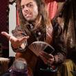 Fortune Teller Beckoning — Stock Photo