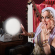 Stock Photo: Startled Fortune Teller
