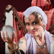 Gorgeous Fortune Teller — Stock Photo #27250115