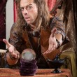 Gesturing Fortune Teller — Stock Photo #27250133
