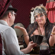 Stock Photo: Gullible Fortune Teller