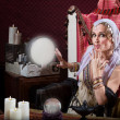 Beautiful Fortune Teller — Stockfoto