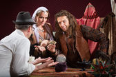 Fortune Teller Scam — Stock Photo
