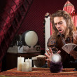 Stock Photo: Focused Fortune Teller