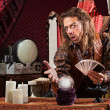 Stock Photo: Enticing Fortune Teller