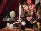 Enticing Fortune Teller — Stock Photo
