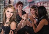 Group of Teens Talking — ストック写真