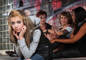 Disappointed Female Teenager — Stock Photo