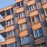Modern apartment building in Turkey — Stock Photo