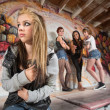 Gang Bullying Teen — Stok Fotoğraf #28675325