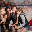 Group of Girls Togther — Stock Photo