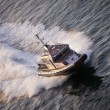 Stock Photo: Police Boat on Patrol