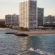 High End Condominium and Apartment Buildings in Fort Lauderdale — Stock Photo