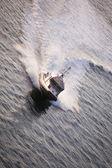 Barca della polizia — Foto Stock