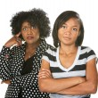 Annoyed Mother and Daughter — Stock Photo