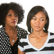 Sad Mother and Daughter — Stock Photo #30085845