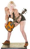 Guitarist Playing Music — Stock Photo