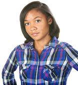 Doubting Young Woman — Stock Photo