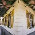 Veranda at Hemingway home in Key West — Stock Photo