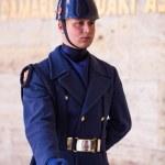 Unidentified Guard at Mausoleum of Ataturk — Stock Photo