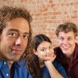 Three Young Adult Friends — Stock Photo