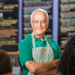 Independent Coffee House Owner — Stock Photo #33039851