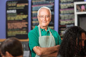Independent Coffee House Owner — Stock Photo