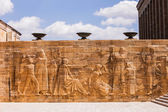 Relief at Mausoleum of Mustafa Kemal Ataturk — Stock Photo